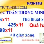 Cách Nhân nhẩm với 11 - Thủ thuật toán học hay