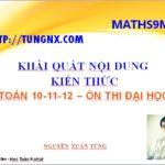 Maths9m - Kênh học toán 10 - 11 - 12 online