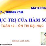 Maths9m - Toán 12 - cực trị của hàm số