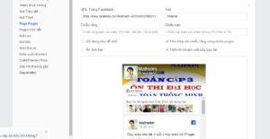 Chèn Page Facebook vào website - Kiến thức wordpress - kiến thức SEO Tungnx