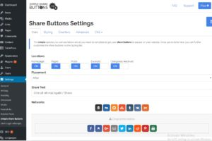 Chèn nút chia sẻ mạng xã hội vào website - Kiến thức WordPress Tungnx