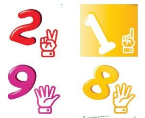 Dạy toán cho bé 5 tuổi - Finger math - toán bàn tay - Finger math method Tungnx