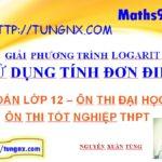 Giải phương trình logarit sử dụng tính đơn điệu của hàm số - học toán 12 online - Math9sm