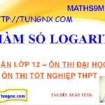 Hàm số Logarit - Tổng hợp các kiến thức cần nhớ hàm số logarit toán 12 - học toán 12 - Maths9m