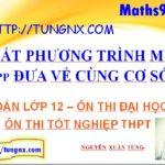 Giải bất phương trình mũ bằng cách đưa về cùng cơ số - học toán 12 online - Tungnx - Maths9m