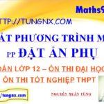 Giải bất phương trình mũ bằng phương pháp đặt ẩn phụ - học toán 12 online - Maths9m