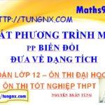 Giải bất phương trình mũ bằng cách biến đổi đưa về dạng tích - học toán 12 online - Maths9m