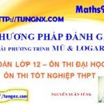 Giải phương trình mũ logarit bằng phương pháp đánh giá - Giải phương trình mũ logarit - học toán 12 Online - Maths9m