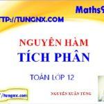 Tổng quát về nguyên hàm tích phân - Chuyên đề nguyên hàm - tích phân - Học toán 12 Online - Maths9m