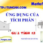 Các bài tập ứng dụng của tích phân - học tốt toán tích phân lớp 12 - Giải tích 12 - Tungnx