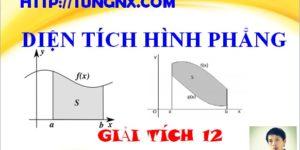 Cách tính diện tích hình phẳng - Ứng dụng của tích phân - Giải tích 12 - Tungnx