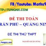 Đề thi thử THPT Quốc Gia môn toán trường Trần Phú Đề thi thử TN toán năm 2018