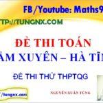 Đề thi thử môn toán trường Cẩm Xuyên - Đề thi thử toán THPT Quốc gia hay nhất
