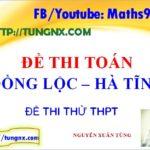 Đề thi thử tốt nghiệp quốc gia trường Đồng Lộc - Đề thi thử đại học 2018