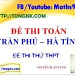 Đề thi thử toán THPT Trần Phú lần 2 - Đề thi thử TN THPT Quốc gia 2018