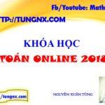 Khóa học toán online 2018
