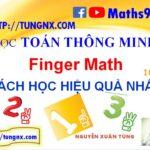 Cách học toán finger math hiệu quả