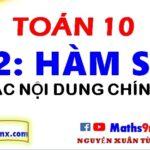 Giới thiệu tổng quan về chương 2 - hàm số bậc nhất và bậc hai