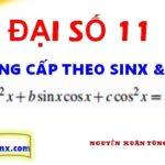 Phương trình đẳng cấp theo sinx và cosx