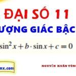 Phương trình bậc hai đối với một hàm lượng giác