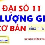 Phương trình lượng giác cơ bản - pt lượng giác sinx lớp 11 - Maths9m- Phương trình sinx = m