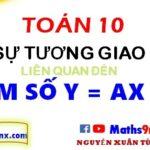 Sự tương giao của hàm số bậc nhất - Hàm số bậc nhất lớp 10 - Maths9m