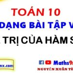 Cách tính giá trị của hàm số - Các dạng bài tập cơ bản về hàm số lớp 10 - Maths9m