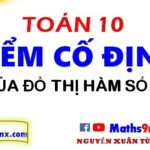 Cách tìm điểm cố định của đồ thị hàm số - Cách học hàm số lớp 10 - Maths9m